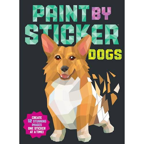 Book - Paint By Sticker:Dogs