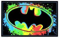 Blacklight - BAT SIGNAL BLACKLIGHT POSTER