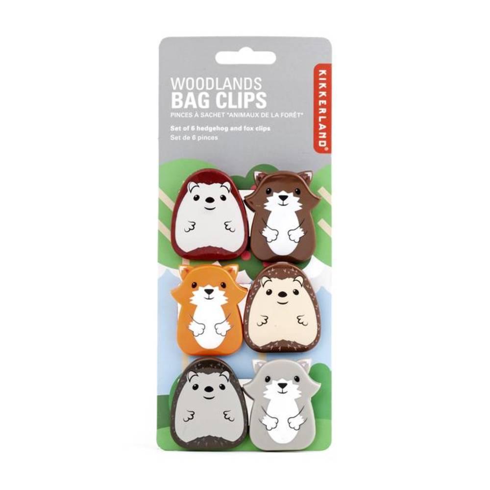 Bag Clips - Woodlands Bag Clips Assorted