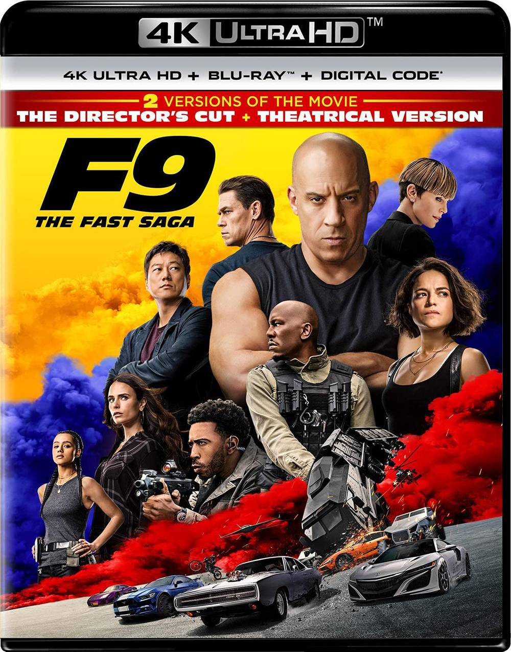 The Fast & The Furious [Movie] - F9: The Fast Saga – Director's Cut [4K]