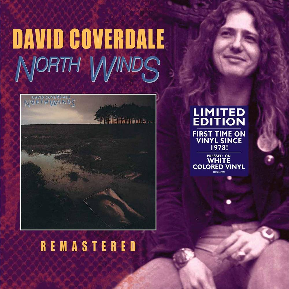 David Coverdale - North Winds [Limited Edition White LP]