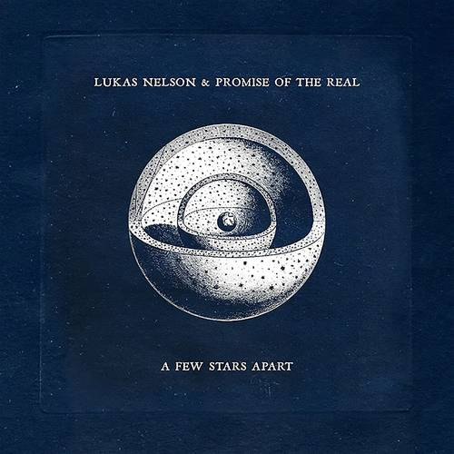Lukas Nelson & Promise Of The Real - A Few Stars Apart [Limited Edition Ink & Paint Black w/ White Splatter LP]