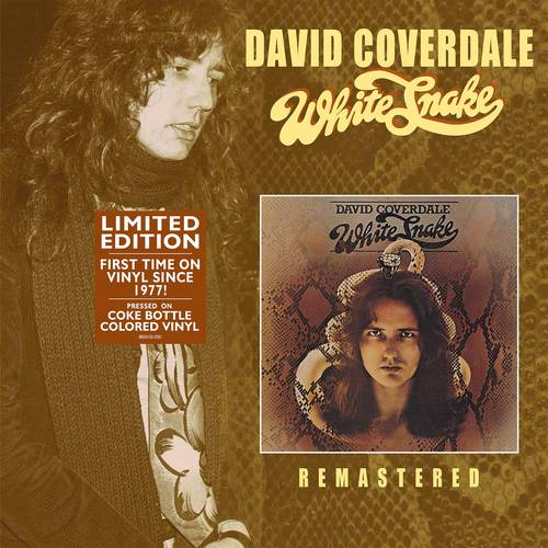 David Coverdale - White Snake [Limited Edition Coke Bottle Clear LP]