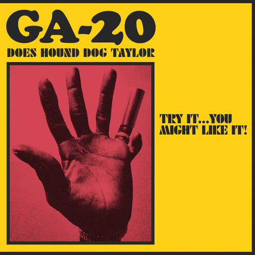 GA-20 - Does Hound Dog Taylor [Indie Exclusive Limited Edition Salmon Pink LP]