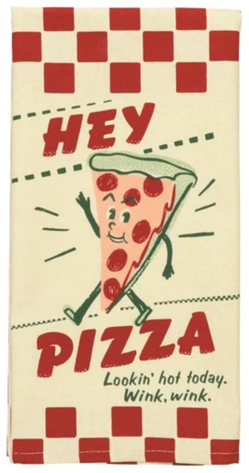 Dish Towel - Hey Pizza