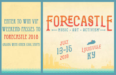 ENTER TO WIN VIP WEEKEND PASSES TO FORECASTLE 2018!