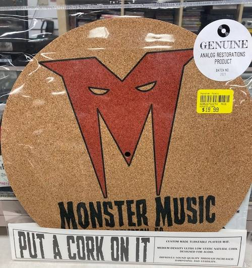 Monster Music - Cork Slip Mat