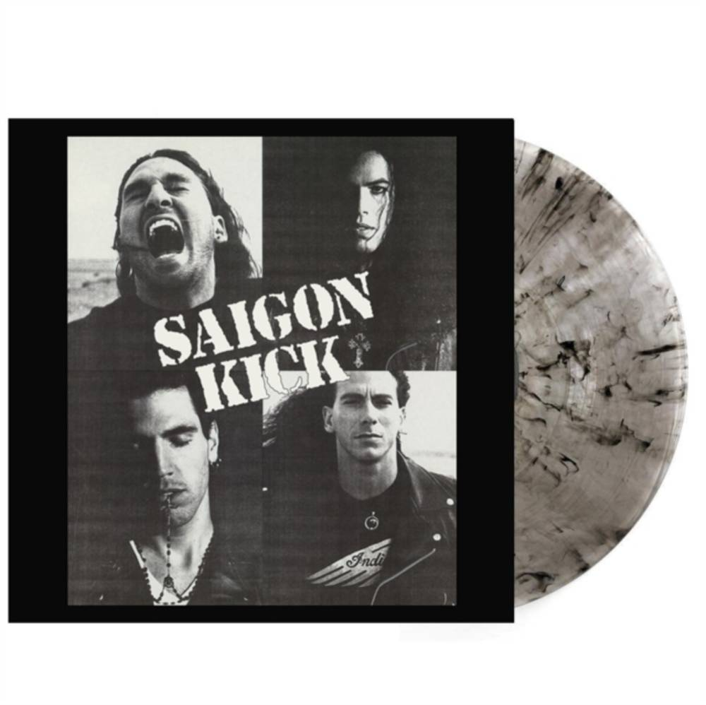 Saigon Kick - SAIGON KICK (CLEAR/BLACK SWIRL)