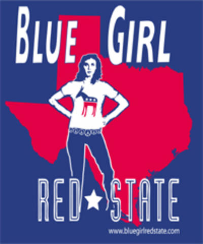 Blue Girl red State - Blue Girl Red State - Texas Sticker