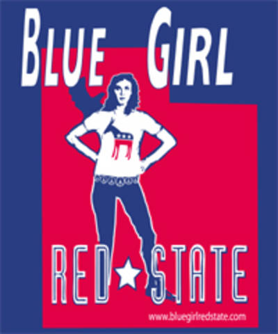 Blue Girl red State - Blue Girl Red State - Utah Sticker