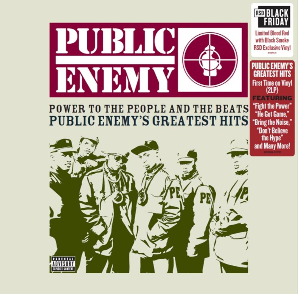 Public Enemy - Power To The People And The Beats - Public Enemy's Greatest Hits [Limited Edition Blood Red w/ Black Smoke 2LP]