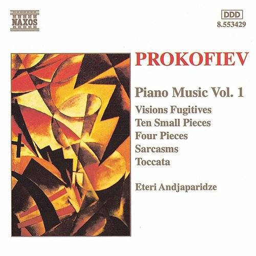 Prokofiev: Ten Small Pieces / Sarcasms / Visions Fugitives