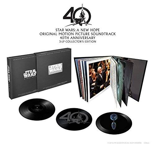 Star Wars: A New Hope [Limited Edition Vinyl Box Set Soundtrack Death Star Hologram]