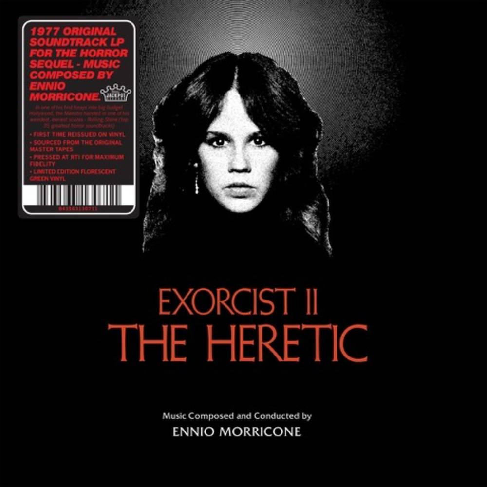 Ennio Morricone - Exorcist II: The Heretic [Limited Edition Colored LP]
