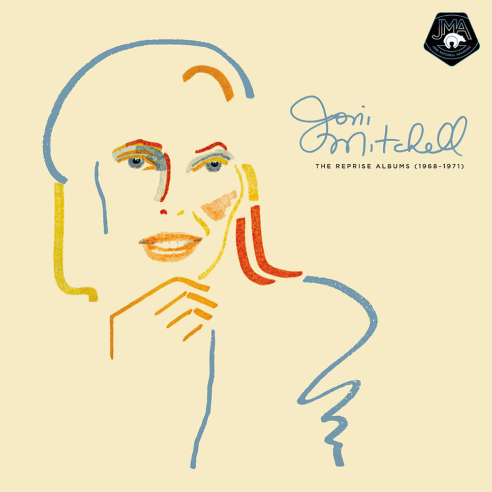 Joni Mitchell - The Reprise Albums (1968-1971) [4CD]