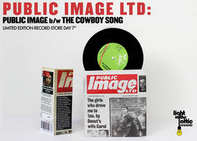 Public Image b/w The Cowboy Song
