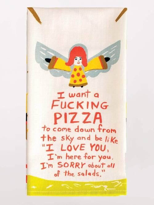 Dish Towel - Fucking Pizza
