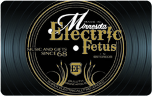 $15.00 Electric Fetus Gift Card
