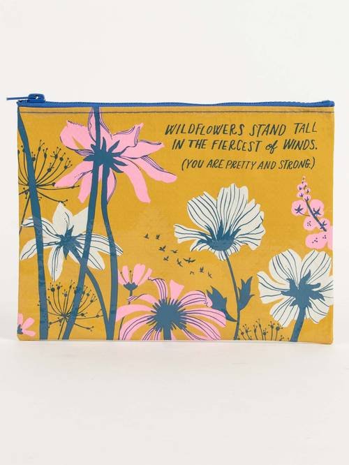 Bag - [Wildflowers Stand Tall] Pouch