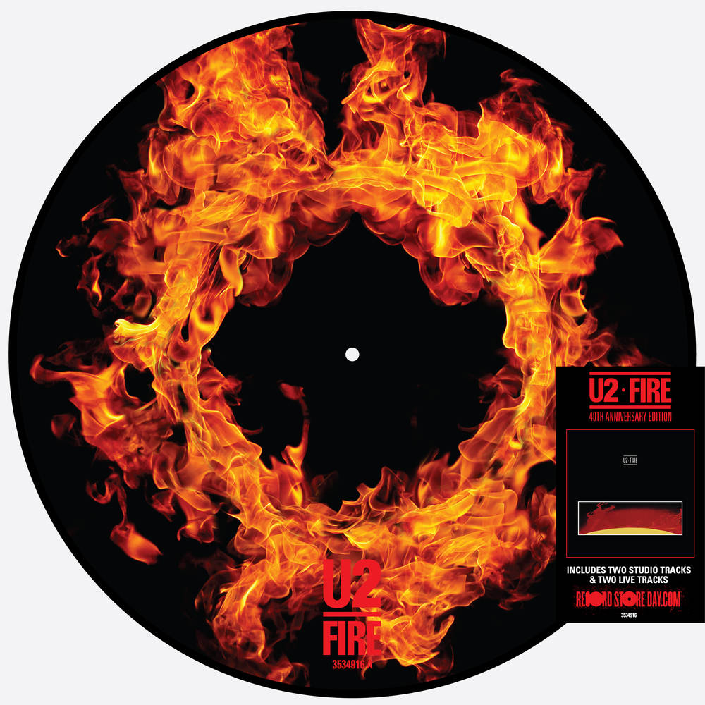 U2 - Fire (40th Anniversary Edition) [RSD Drops 2021]