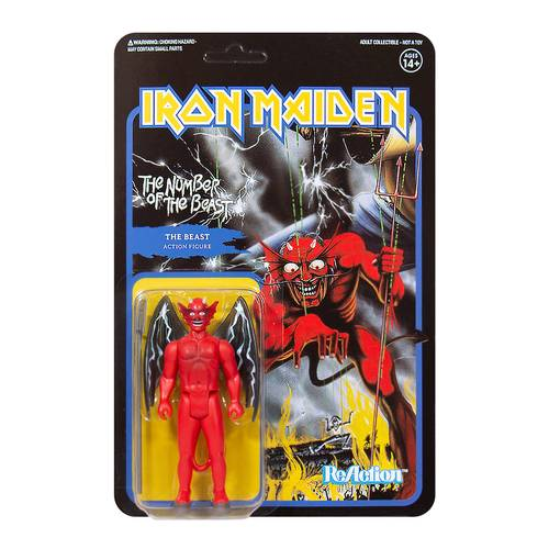 Iron Maiden - Iron Maiden ReAction Figure - The Number of the Beast