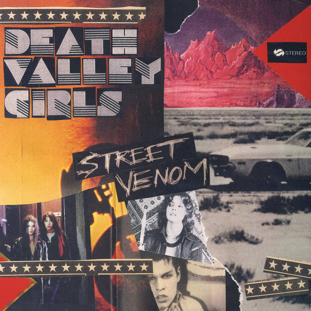 Death Valley Girls - Street Venom (Deluxe Edition) [Indie Exclusive Limited Edition Milky Clear LP w/ Yellow & Red Splatter]