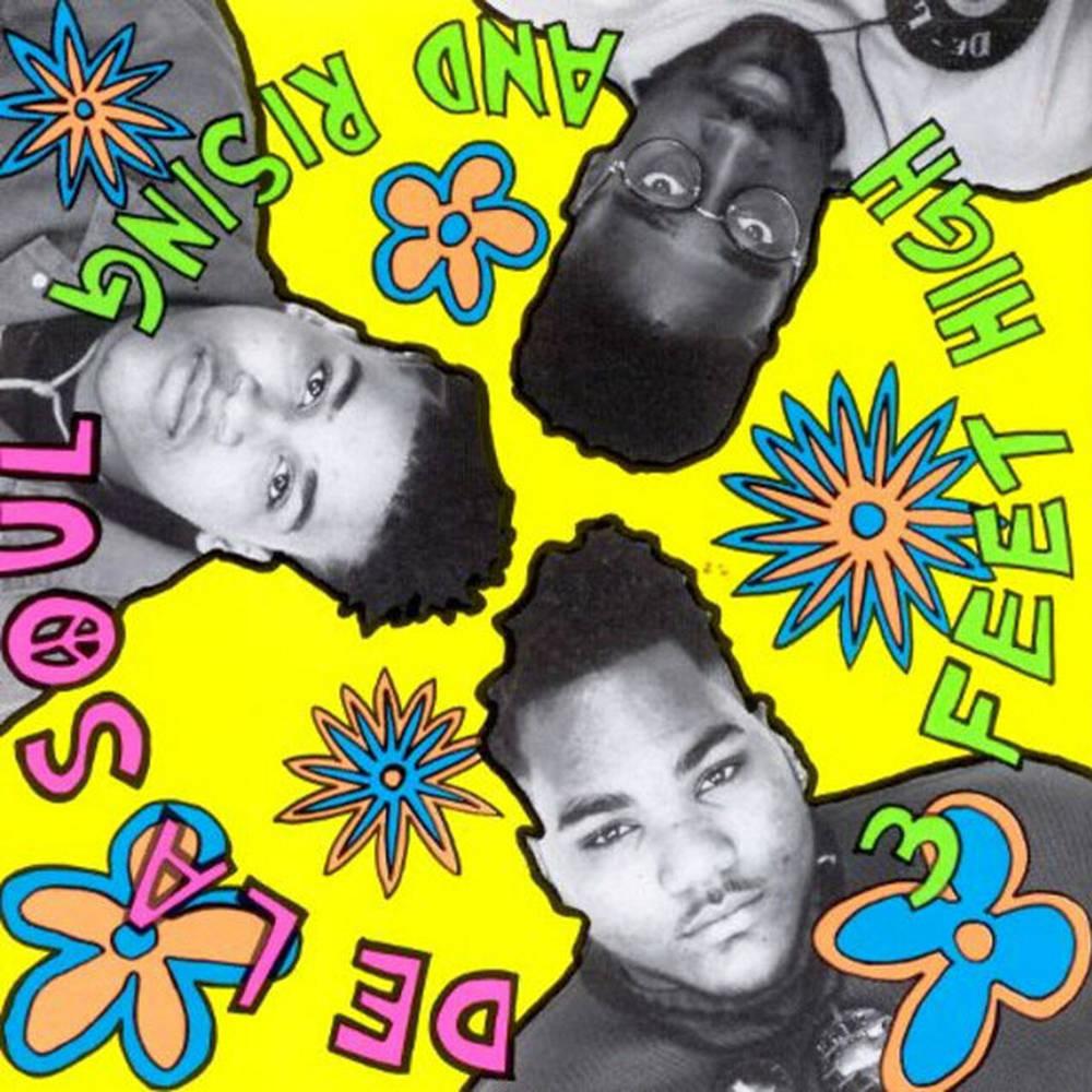 De La Soul - 3 Feet High & Rising (Neon Blue & Neon Magenta)