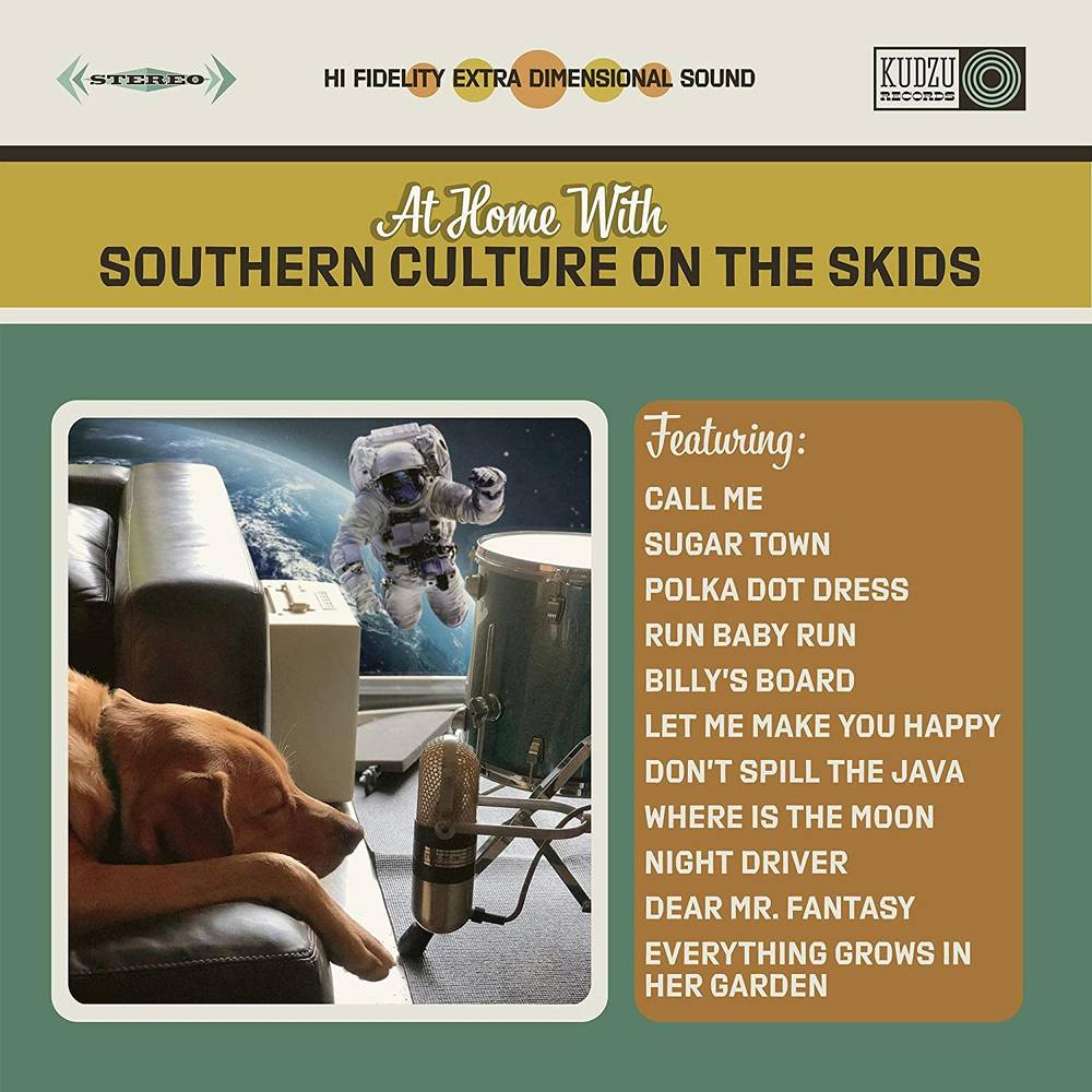 Southern Culture On The Skids - At Home With Southern Culture On The Skids [LP]