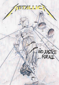 Metallica - METALLICA JUSTICE FOR ALL POSTER FLAG