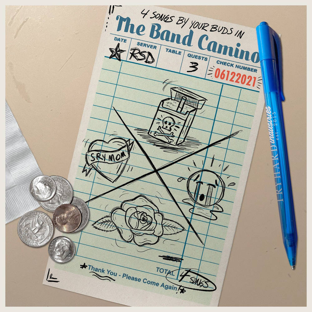 The Band CAMINO - 4 songs by your buds in The Band Camino [RSD Drops 2021]