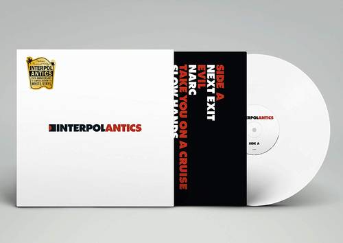 Antics [Limited Edition White LP]