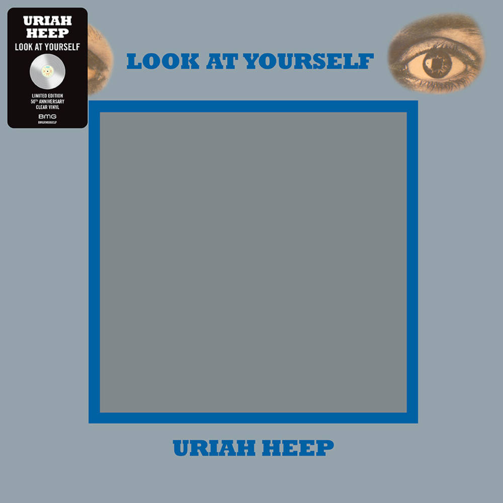 Uriah Heep - Look At Yourself [Indie Exclusive Limited Edition Clear LP]