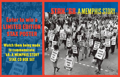 ENTYER TO WIN A LIMITED EDITION STAX POSTER