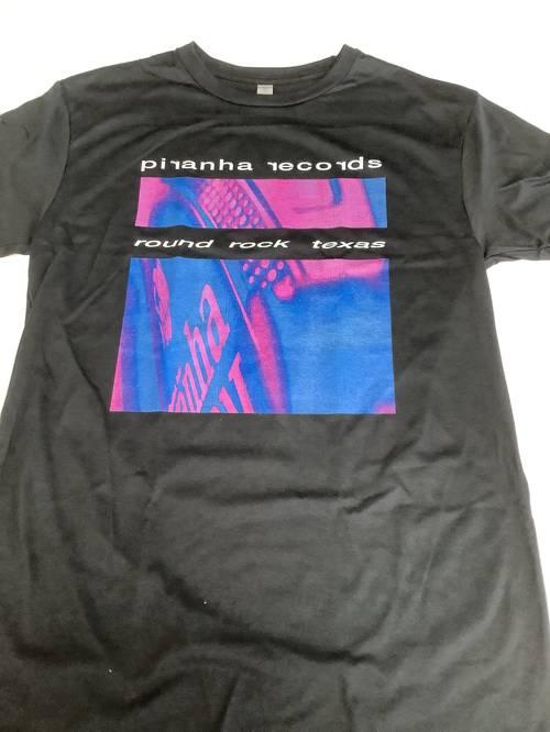 Piranha Records - Album cover T-shirt [Medium]