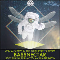 Win a glow in the dark Bassnectar poster!