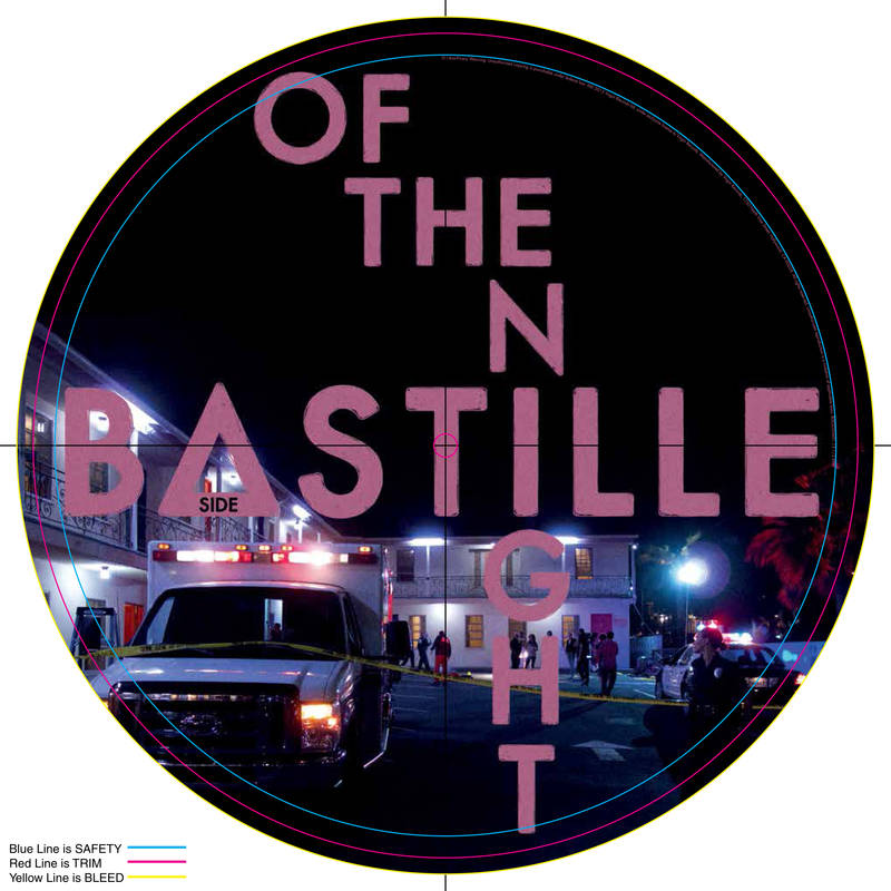 BASTILLE OF THE NIGHT PICTURE DISC