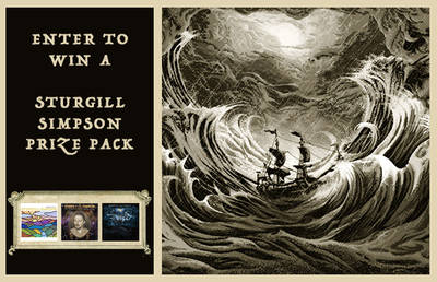 ENTER TO WIN A STURGILL SIMPSON PRIZE PACK