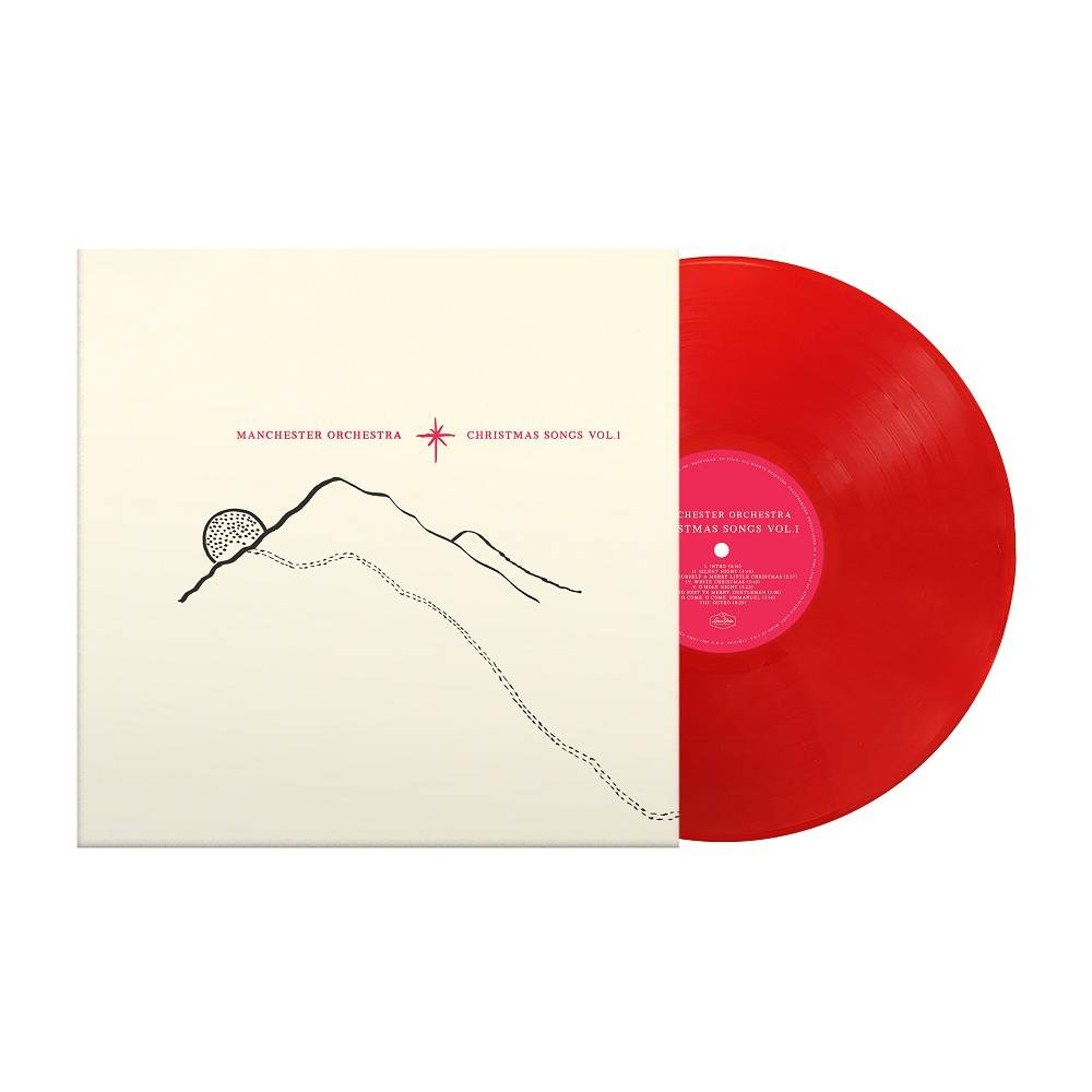 Manchester Orchestra - Christmas Songs Vol. 1 [Limited Edition Holiday Red LP]