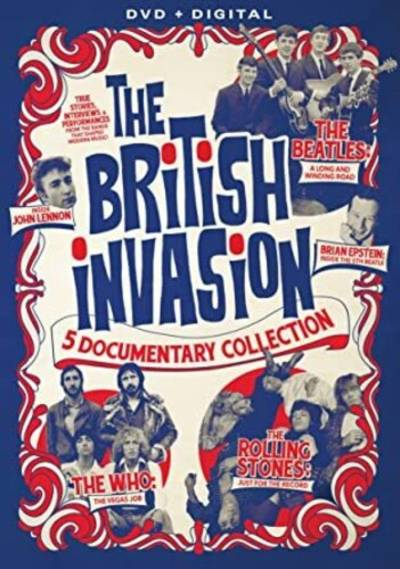 - The British Invasion: 5 Documentary Collection