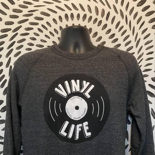 CSR Merch - Vinyl Life Sweatshirt