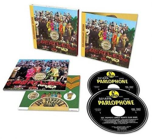 Sgt. Pepper's Lonely Hearts Club Band: Anniversary Edition [Import 2CD Deluxe Edition]