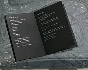 Cry Lyric Book