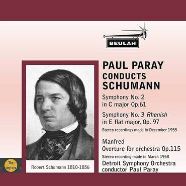 Paul Paray Conducts Schumann