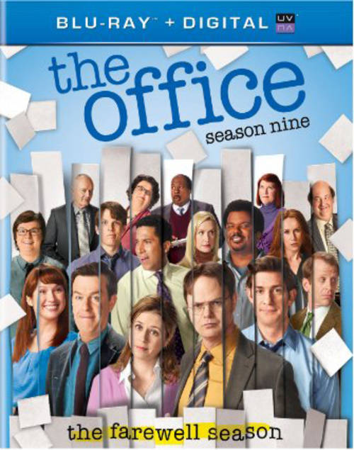 Office: Season Nine (4pc) / (Uvdc Box Dig)