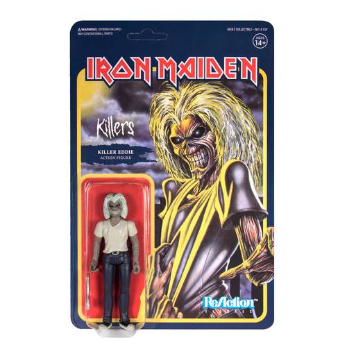 Iron Maiden - Iron Maiden ReAction Figure - Killers Eddie