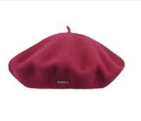 Hat - Raspberry Beret Modelaine