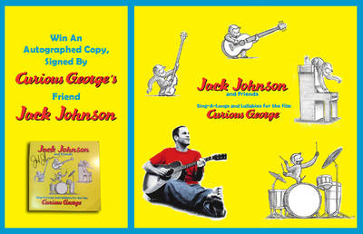ENTER TO WIN AN AUTOGRAPHED COPY OF CURIOUS GEORGE SOUNDTRACK