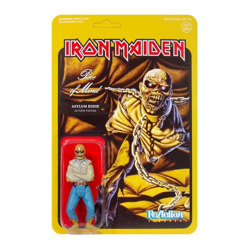 Iron Maiden - Iron Maiden ReAction Figure - Piece of Mind (Album Art)