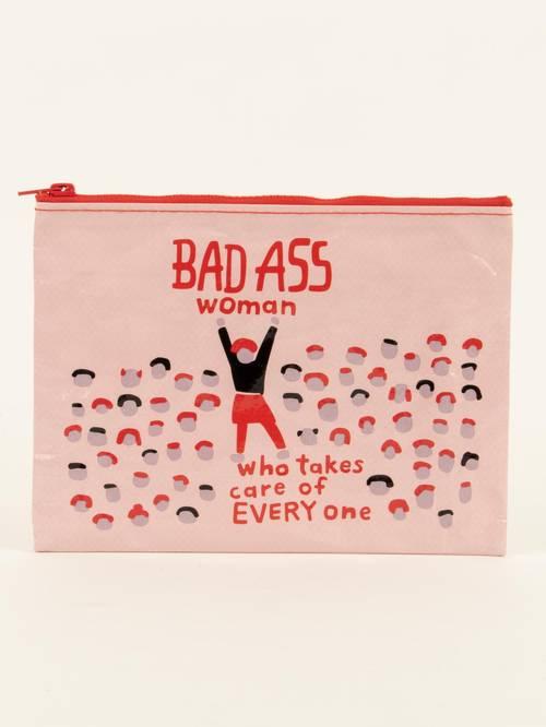 Bag - [Badass Woman] Pouch