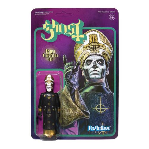 Ghost - Ghost ReAction Figure - Papa Emeritus III